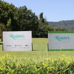 espositori pubblicitari per tornei di golf