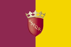 Bandiere delle città: Roma