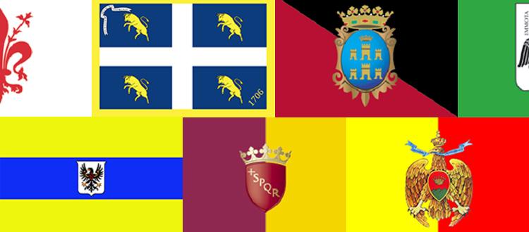 Litalia In Bandiere Parte 2 Le Bandiere Delle Città Su Misura