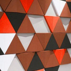 Pannelli fonoassorbenti decorativi