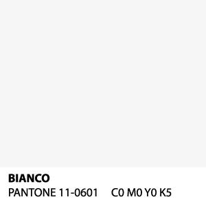Bianco - PANTONE 11-0601 - C0 M0 Y0 K5
