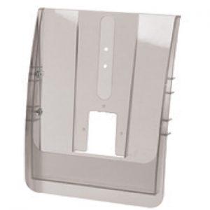 Accessori optional textile frame: tasca porta depliant in acrilico