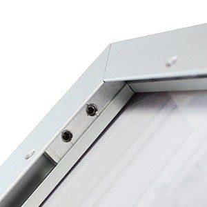 Dettaglio cornice textile frame slim