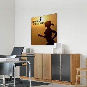 Cornici Textile Frame Slim per uffici