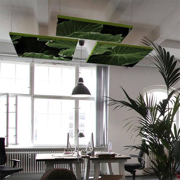 Pannelli fonoassorbenti per soffitto