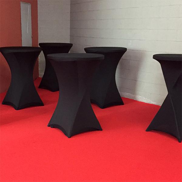 Rivestimento in tessuto per tavolini