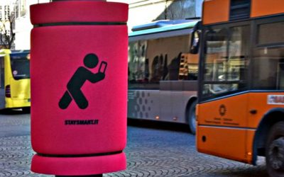 Stay Smart: guerrilla marketing a Bolzano