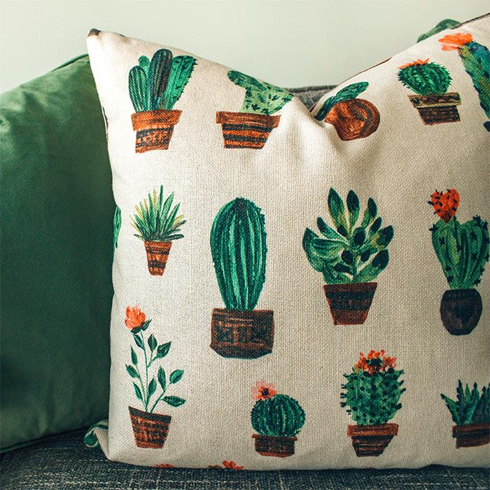 Rivestimento in tessuto personalizzato per cuscino