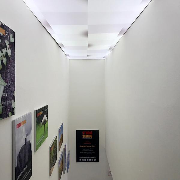 Lightbox decorazione soffitto