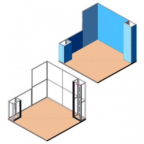 Stand Textile Frame